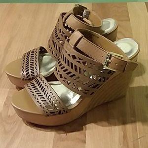 Ralph Lauren wedge heels
